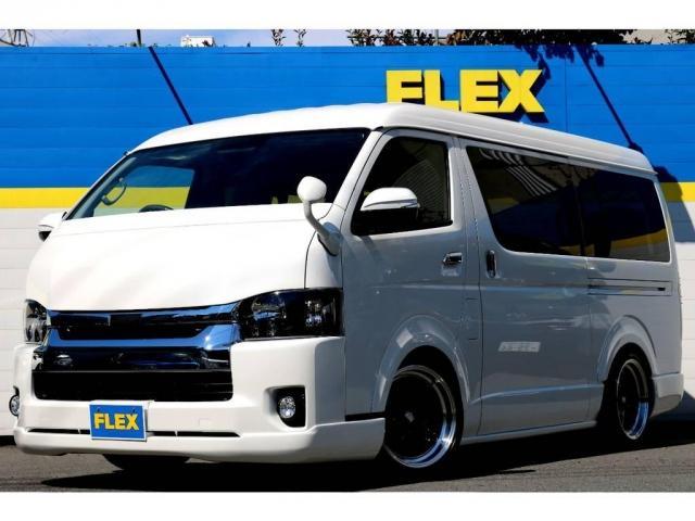 トヨタ 2.7 GL ロング ミドルルーフ TSS付GIBSONエア
