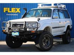 ランドクルーザー804.2 GX ディーゼル 4WD 最終型 デフロック 純正白
