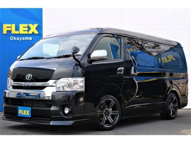 トヨタ 2.7 GL ロング ミドルルーフ 岡山店FLEXオリジナル