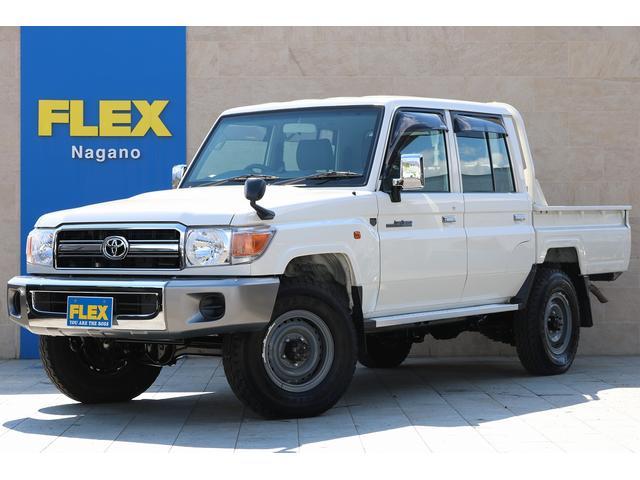 トヨタ 4.0 4WD 1オーナー車 デフロック SDナビTV