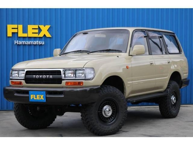 トヨタ 4.5 VXリミテッド 4WD 角目四灯 新品ナビ