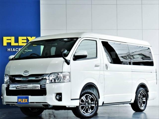 トヨタ 2.7 GL ロング ミドルルーフ 4WD R1内装架装