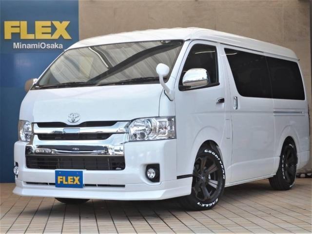 トヨタ 2.7 GL ロング ミドルルーフ TSS付 FLEXCUS