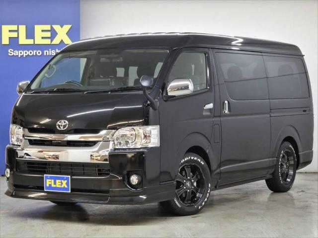 トヨタ FLEXアレンジR1内装ナビ ETC フリップダウンモニター