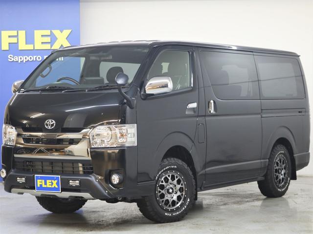 トヨタ TRDカスタム BIG-Xナビ フロアボード施工 4WD