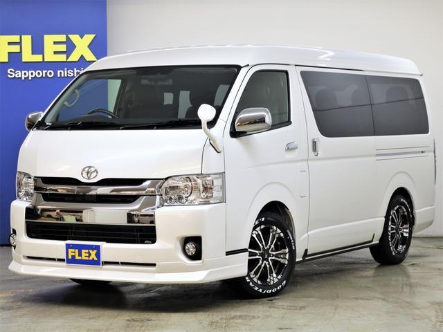 トヨタ FLEX アレンジR1内装 ナビ フリップダウンモニター
