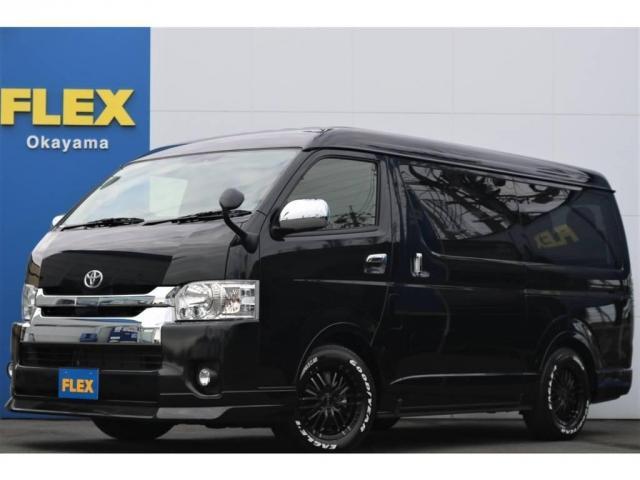 トヨタ 2.7 GL ロング ミドルルーフ 4WD TSS付