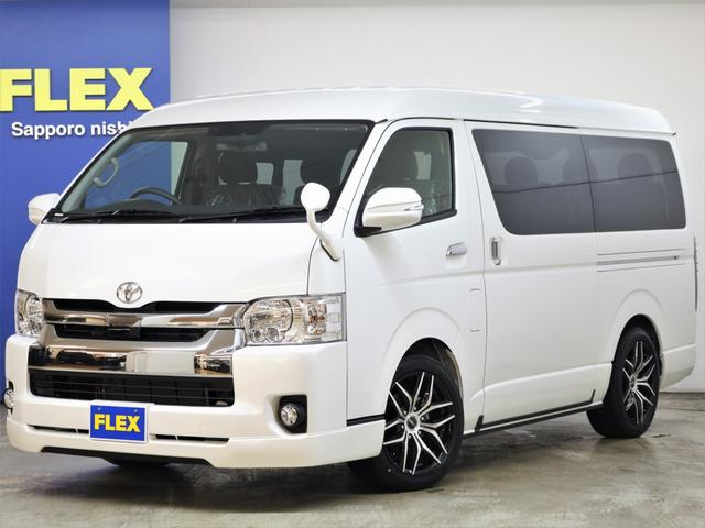 トヨタ FLEXアレンジR1内装 BIG-Xナビ フリップダウン