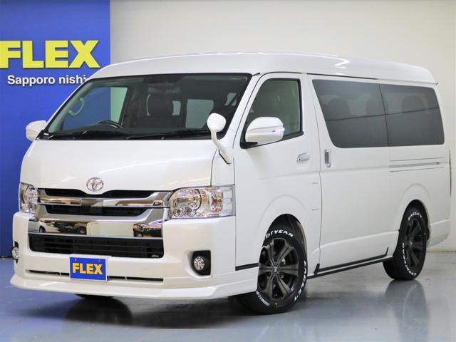 トヨタ FLEX REV2内装架装 ナビ フリップダウンモニター