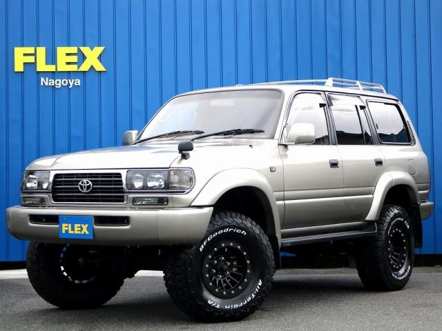 トヨタ ランドクルーザー80 VXリミテッド 4WD 6インチUP ガナドール4本マフラー