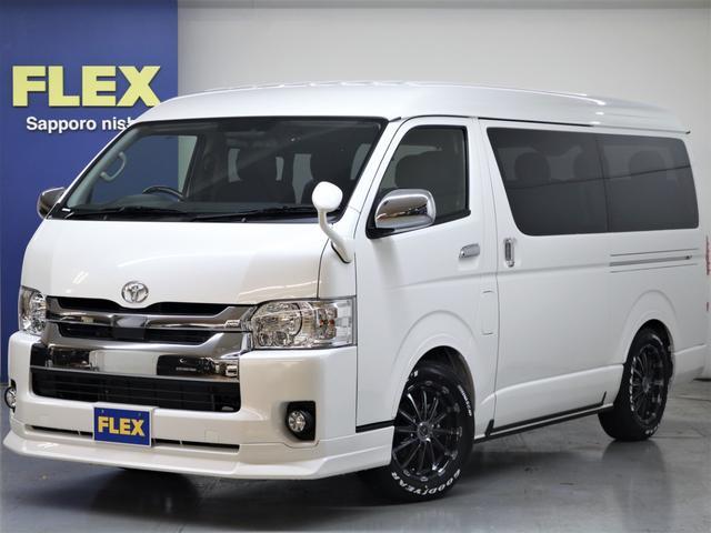 トヨタ 4WD FLEXアレンジR1内装架装 ナビ フリップダウン