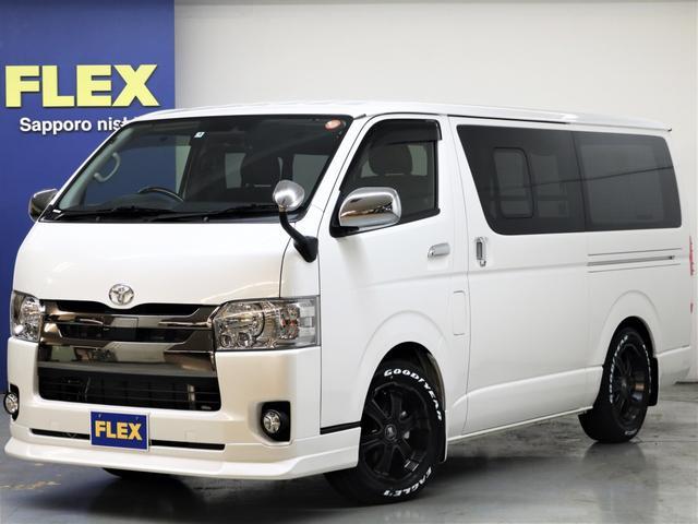 トヨタ 4WD 新品ナビ 新品FLEXバルベロAW