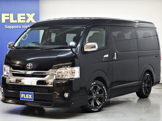 トヨタ 4WD FLEX REV02内装架装ナビフリップ