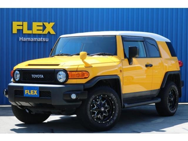 トヨタ FJクルーザー 4.0 カラーパッケージ 4WD 各部黒塗装 ナビ Bカメラ