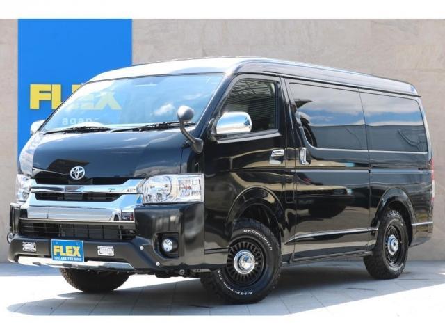 トヨタ 2.7 GL ロング ミドルルーフ 4WD 内装架装AS