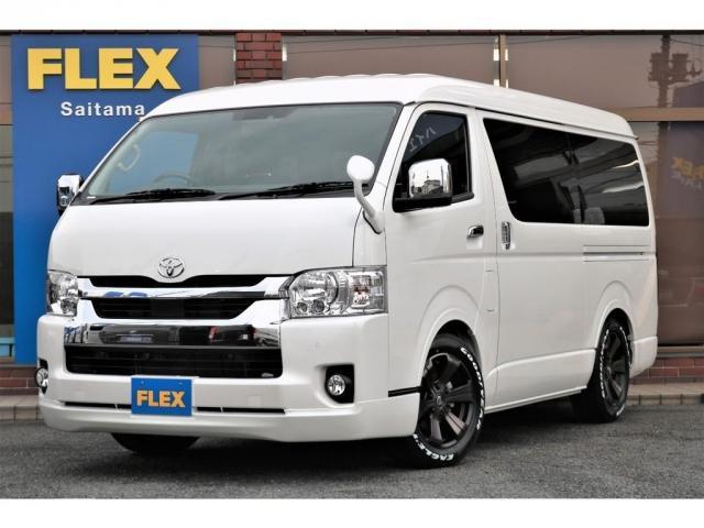 トヨタ ハイエースワゴン 2.7 GL ロング ミドルルーフ新型 FLEXカスタム