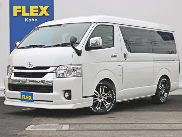 トヨタ 2.7 GL ロング ミドルルーフ FLEXコンプリートナビ
