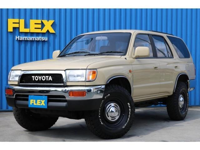 トヨタ ハイラックスサーフ 2.7 SSR-X4WD ベージュNEW 新品ホイールタイヤ
