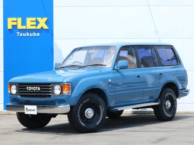 トヨタ ランドクルーザー80 4.5 VXリミテッド 4WD 丸目 86 アルル