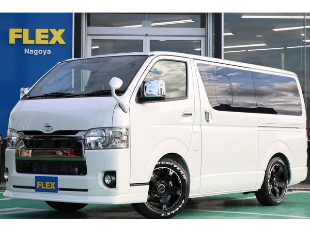 トヨタ ハイエースバン スーパーGL ダークプライムII ガソリン車 ベットキット フローリング施工Ver.4