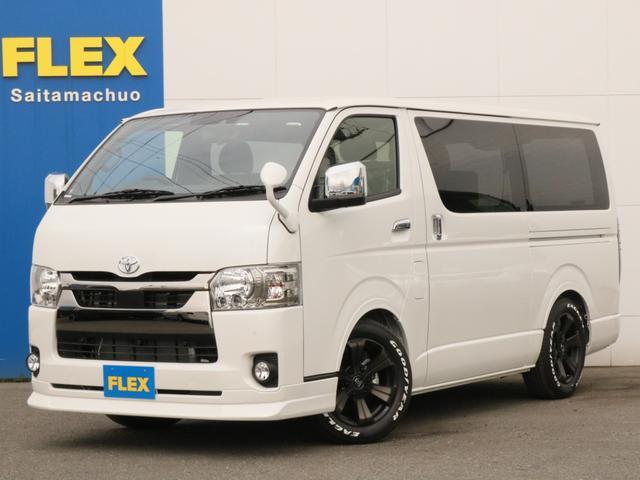 トヨタ スーパーGL ダークプライムII 新型PVM付/自動ドア/フルセグナビ