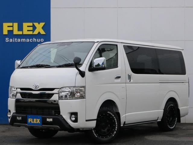 トヨタ スーパーGL ダークプライムII ロングボディ 新型PVM付 Ver4内装架装 両側自動ドア