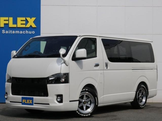 トヨタ スーパーGL ダークプライムII 新型PVM付 415コブラBy2ボンネット インナーブラックヘッドライト BIG-X11