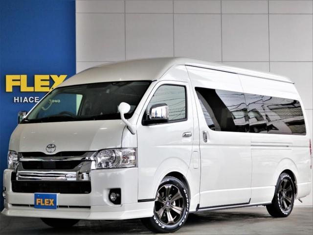 トヨタ SロングワイドDX FLEXキャンピング タイプ1 FFヒーター サブバッテリーシステム 走行充電 外部電源