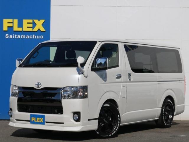 トヨタ スーパーGL ダークプライムII 新型PVM付 両側自動ドア ライトカスタム