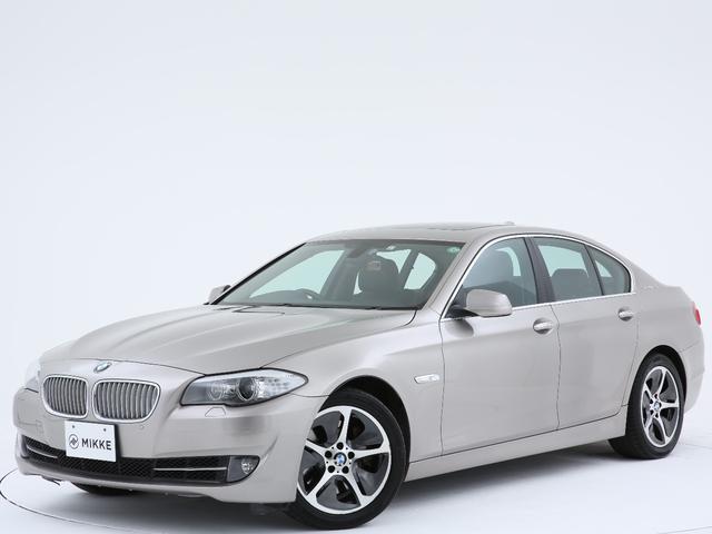 BMW 5シリーズ アクティブハイブリッド5 カシミアシルバー/ワンオーナー/サンルーフ/本革/ドラレコ