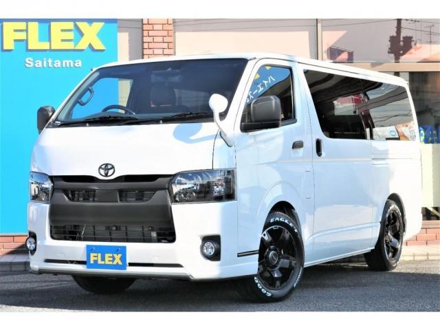 トヨタ スーパーGL ダークプライムII FLEX埼玉店ブラックシリーズ 2WDガソリン特別仕様車