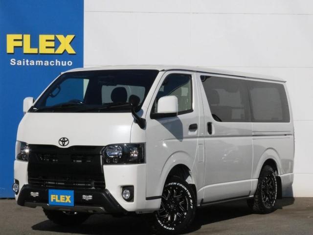 トヨタ スーパーGL ダークプライムII ロングボディ ブラックED オフロードPKG 両側自動ドア