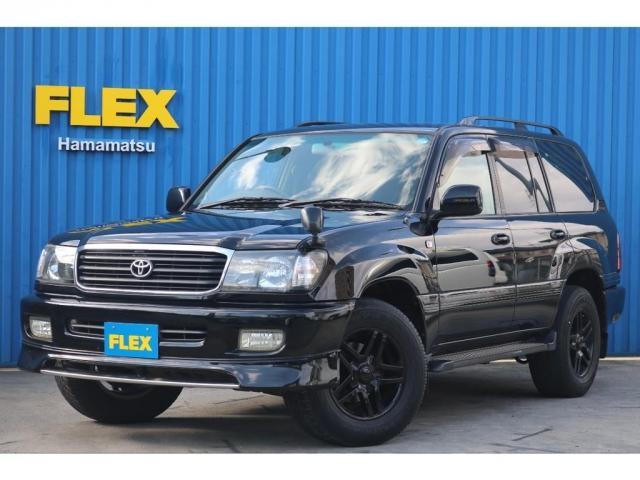 トヨタ ランドクルーザー100 VX ブラックオールP 後期仕様 インナーブラックヘッドライト 新品LXテール リアガーニッシュ マルチレス ディスプレイオーディオ