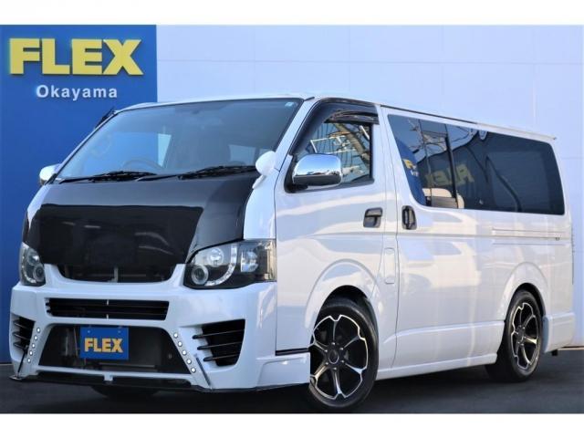 トヨタ ロングスーパーGL 買取直販 3型 スーパーGL ガソリン 2WD ワンオーナー車 7.8万km フルエアロ ローダウン 17インチアルミホイール LEDテールランプ ナビ バックカメラ ETC セキュリティ
