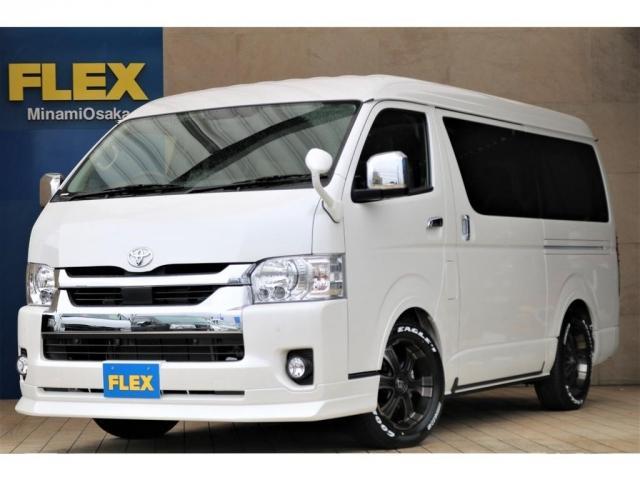 トヨタ GL パーキングサポート FLEXシートアレンジVer5 フルフラットベッドモード ツインモニター ETC