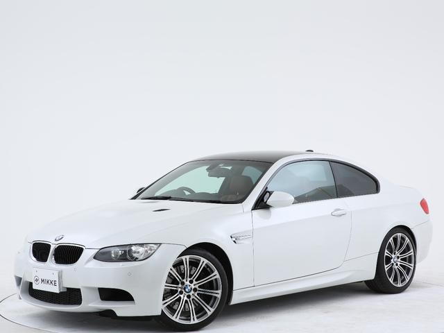 BMW M3クーペ メーカーオプション19インチ/禁煙/M DCT ドライブロジック/アルピンホワイト/後期/Iドライブ