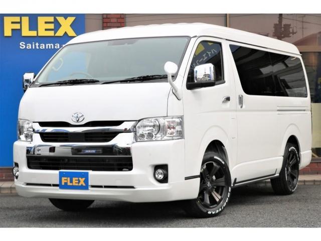 トヨタ ハイエースワゴン GL FLEXオリジナルシートアレンジVer2内装架装 新車ハイエースワゴン4WD カスタムコンプリート