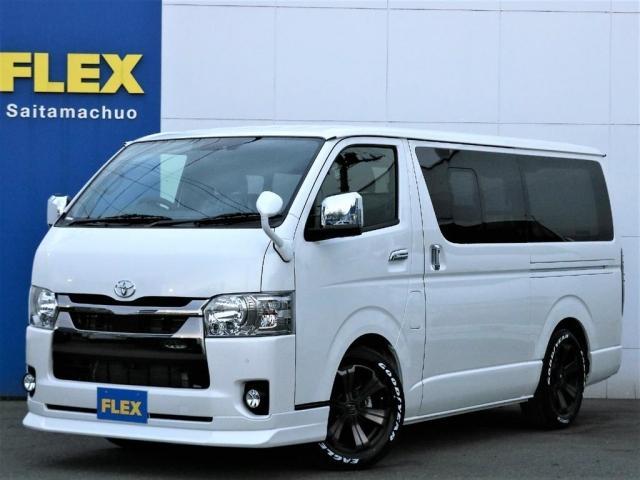 トヨタ スーパーGL ダークプライムII 新車/FLEXカスタム ナビパッケージ