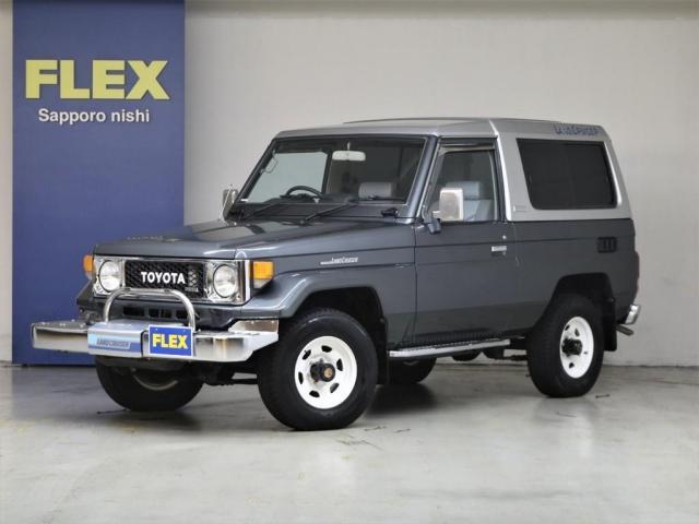 トヨタ LX ワンオーナー ディーゼル パートタイム4WD 5速マニュアル オリジナル仕様 純正ウインチ AISIN製マニュアルハブ 整備記録簿28枚保管 4ナンバー登録