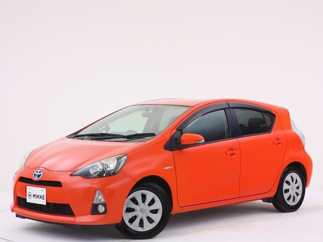 トヨタ G シトラスオレンジマイカメタリック/禁煙/ユーザー様買取車両/シートヒーター/ナビ/バックカメラ