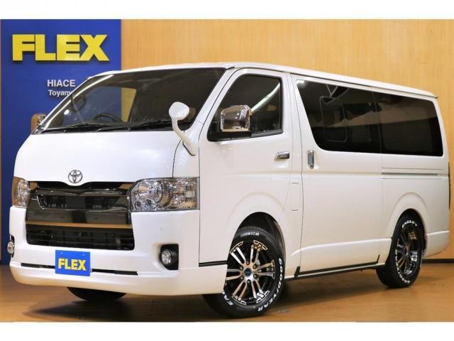 トヨタ スーパーGL ダークプライムII ロングボディ FLEXオリジナル内装架装Ver4