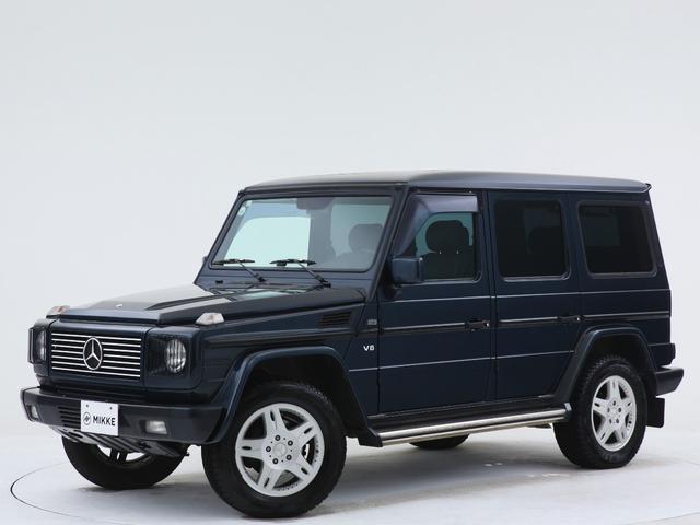 メルセデス・ベンツ G500 ロング エメラルドブラック/ユーザー買取車両/AMGジャパンもの/7人乗り/サンルーフ