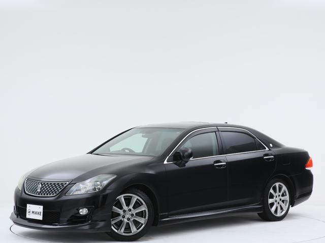 トヨタ クラウン 3.5アスリート ユーザー様下取車両/サンルーフ/ディスチャージライト/純正HDDマルチディスプレイ/スマートキー/3500ccV6エンジン