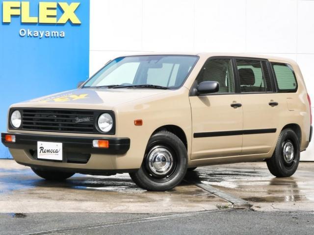 トヨタ F FLEX by RENOCA ユーロボックスの完成です NEWペイントブエブロベージュ 新品DEENアルミホイール 新品TOYOブラックレタータイヤ 新品オリジナルシートカバー