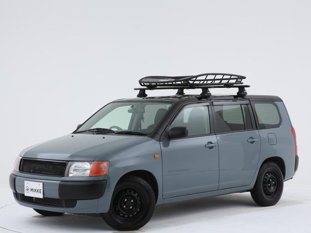 トヨタ GL アンヴィル全塗装済 / ブラックルーフ / 専用デザインシートカバー / THULE製ルーフキャリア / 木目調カーゴマット