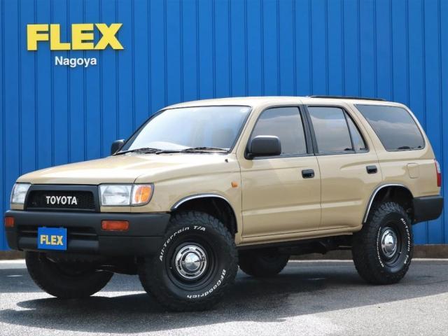 トヨタ ハイラックスサーフ SSR-X ベージュクラシックコンプリート