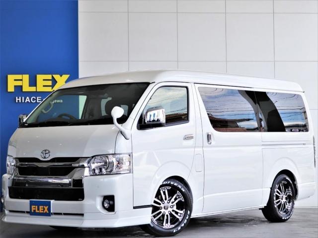 トヨタ GL FLEXカスタム ストラーダナビ フルセグTV 後席フリップダウンモニター オートスライドドア デジタルインナーミラー パノラミックビューモニター スマートキー