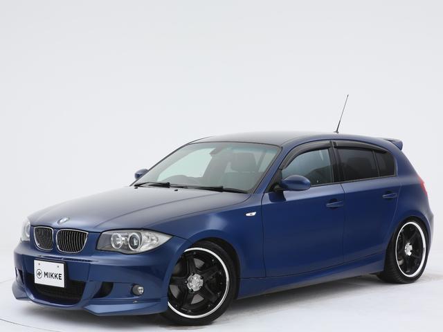 BMW 1シリーズ 130i Mスポーツ AC SCHNITZERリップスポイラー/リアウィング/ビルシュタインショック/ローダウンサス/RacingHartRS18インチアルミ/6速MT