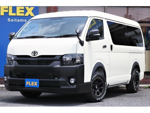 トヨタ GL 4WDガソリンFLEXシートアレンジVer1内装オフロードカスタムブラックコンプリートシリーズオーバーフェンダーオープンカントリータイヤシグマLEDテールランプフルセグナビフリップダウンモニター