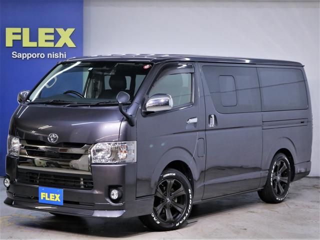 トヨタ スーパーGL ダークプライム 新品FLEXアーバンAW FLEXベッドキット